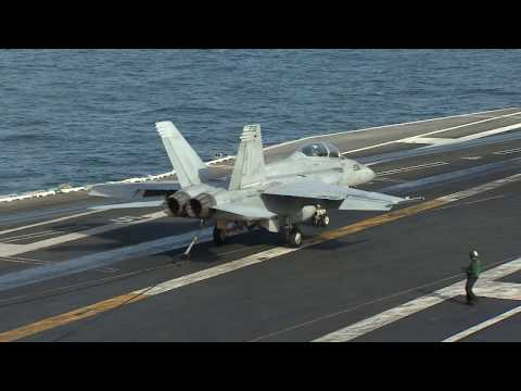 US Carrier passes Strait of Hormuz - BBC News