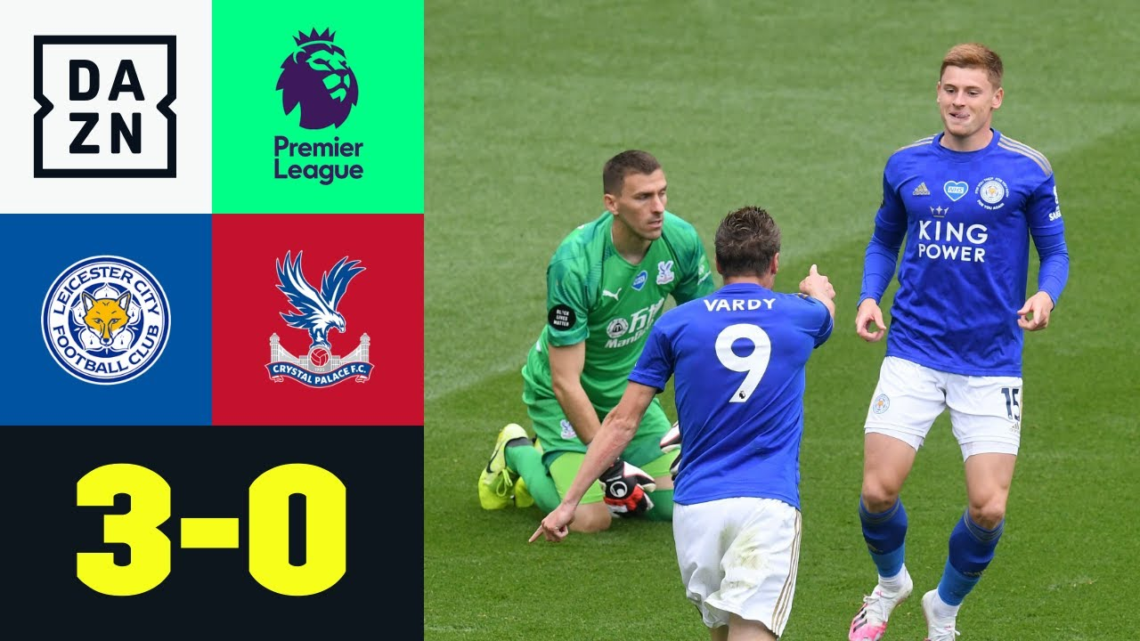 Leicester City vs Crystal Palace (3-0) | Resumen y goles | Highlights Premier League