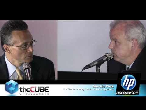 Martin Fink & Kirk Skaugen - HP Discover 2011 - theCUBE - #HPDiscover