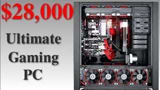 Theoretical $28,000 Ultimate Gaming PC + Setup!