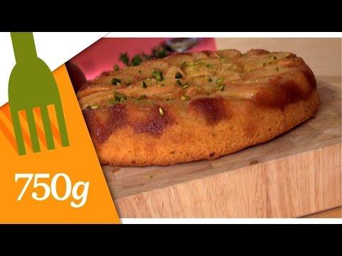 recette-de-gâteau-renversé-aux-pêches---750g