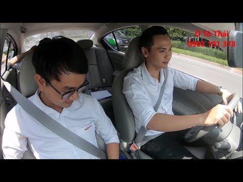 Nissan Sunny - Trải Nghiệm Sedan B Rộng Nhất Phân Khúc Cảm Giác Lái Và Làm Hành Khách [Ô Tô Thái]