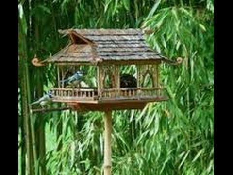 construire un perchoir et une mangeoire pour les oiseaux zeprofdortie youtube. Black Bedroom Furniture Sets. Home Design Ideas