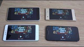 Nokia 6 vs Xperia XA1 vs Galaxy A5 2017 vs Redmi Note 4X - Gaming Review!