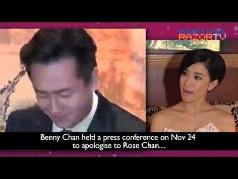 Charmaine: Benny Chan learnt a big lesson (Charmaine Sheh @ ATV Awards Pt 1)