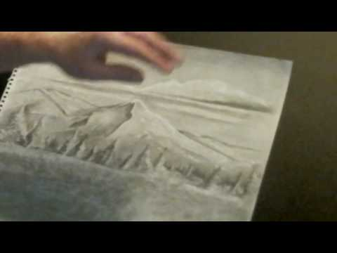 Part 5 - Drawing landscapes with charcoal and graphite