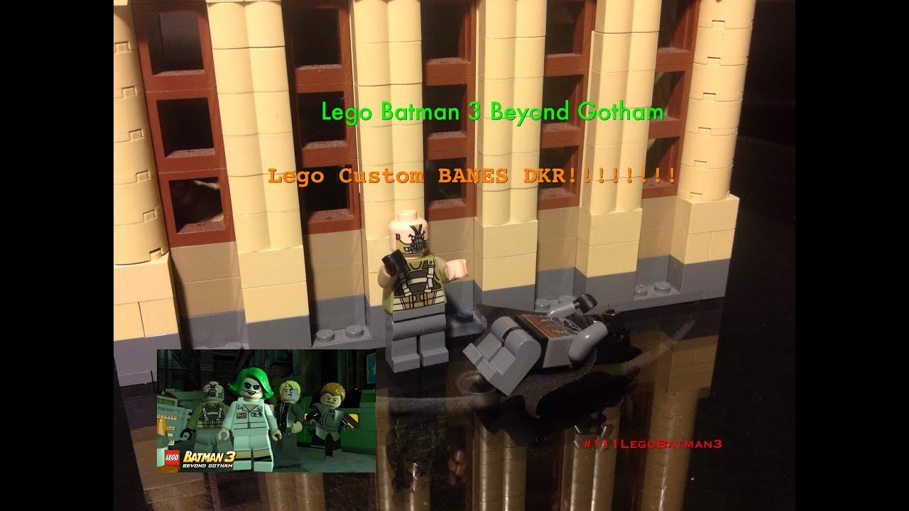 Lego Custom DKR BANE Batman 3 Beyond Gotham - YouTube
