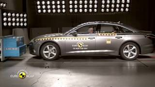Euro NCAP Crash Test of Audi A6 2018