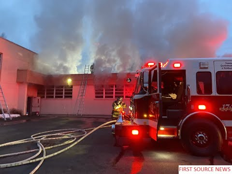 2nd alm fire Fire breaks out at quakertown Christian school 143 Rocky Ridge Rd