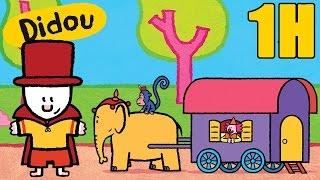 1 heure de Didou, didou dessine-moi le cirque Compilation | Dessins animés pour les enfants