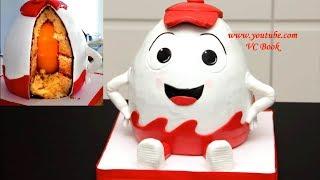 Торт Киндер Сюрприз / 3D Торт / Яйцо с Сюрпризом / Kinder Surprise Cake