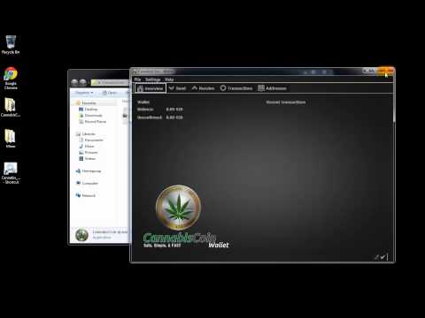 How To Install CannabisCoin Wallet *Audio