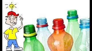 ИЗ ПЛАСТИКОВЫХ БУТЫЛОК. Творческие идеи с мира по нитке  /Creative ideas of using plastic bottles