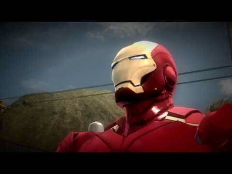 Iron Man 2: The Video Game - War Machine Trailer - PlayJamUK