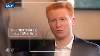 Adrien Quatennens invité de Emois & moi | LCP