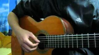Tiếng mưa đêm - Guitar