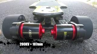 EVOLVE CARBON GT - 200 KV + 107 mm = 70km/h??