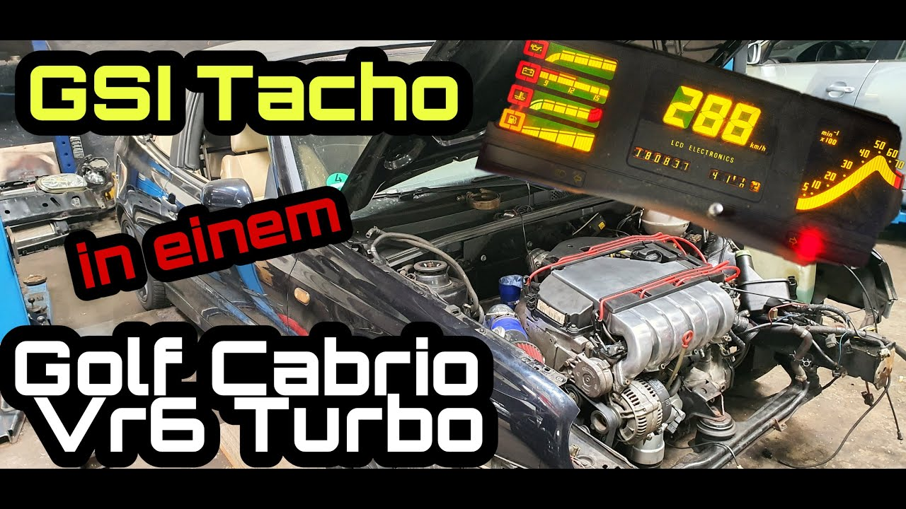 Golf VR6 Turbo bekommt GSI Tacho | Mäusekino | Einzigartig