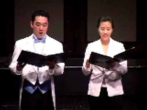 Bach ; Mein Freund ist meinCantata BWV 140; Chungers Kim, Baritone; Yoona Hwang, Soprano