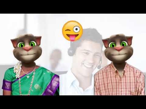 கஸ டம ர க ர joke talking tom customer care funny tamil