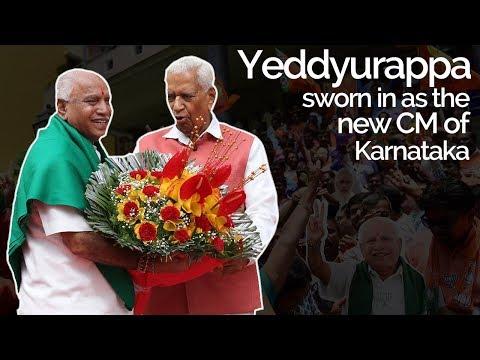 Updates: Yeddyurappa Sworn In As The 23rd CM of Karnataka