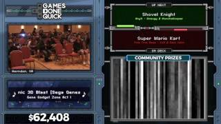 Shovel Knight by Smaugy and Munchakoopas in 46:16 - AGDQ 2017 - Part 5