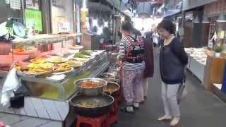 Южная корея  как выглядит Продуктовый рынок