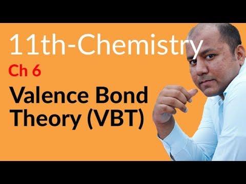 Inter Part 1 Chemistry ch 6,Valence Bond Theory (VBT)-Fsc Chemistry book 1 ch 6 Chemical Bonding