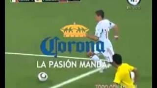 Mexico Vs Ecuador 1-2 Tv Azteca Deportes Gol del chicharito 2010
