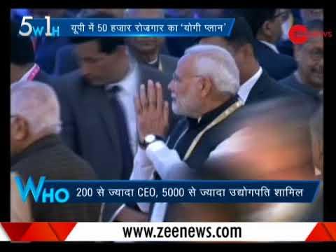 "5W1H: ""Uttar Pradesh will be the growth engine of the nation,"" said PM Modi at Investors Summit"