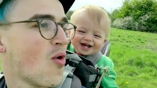 Adorable Baby Laughs About Dandelions | What's Trending Now