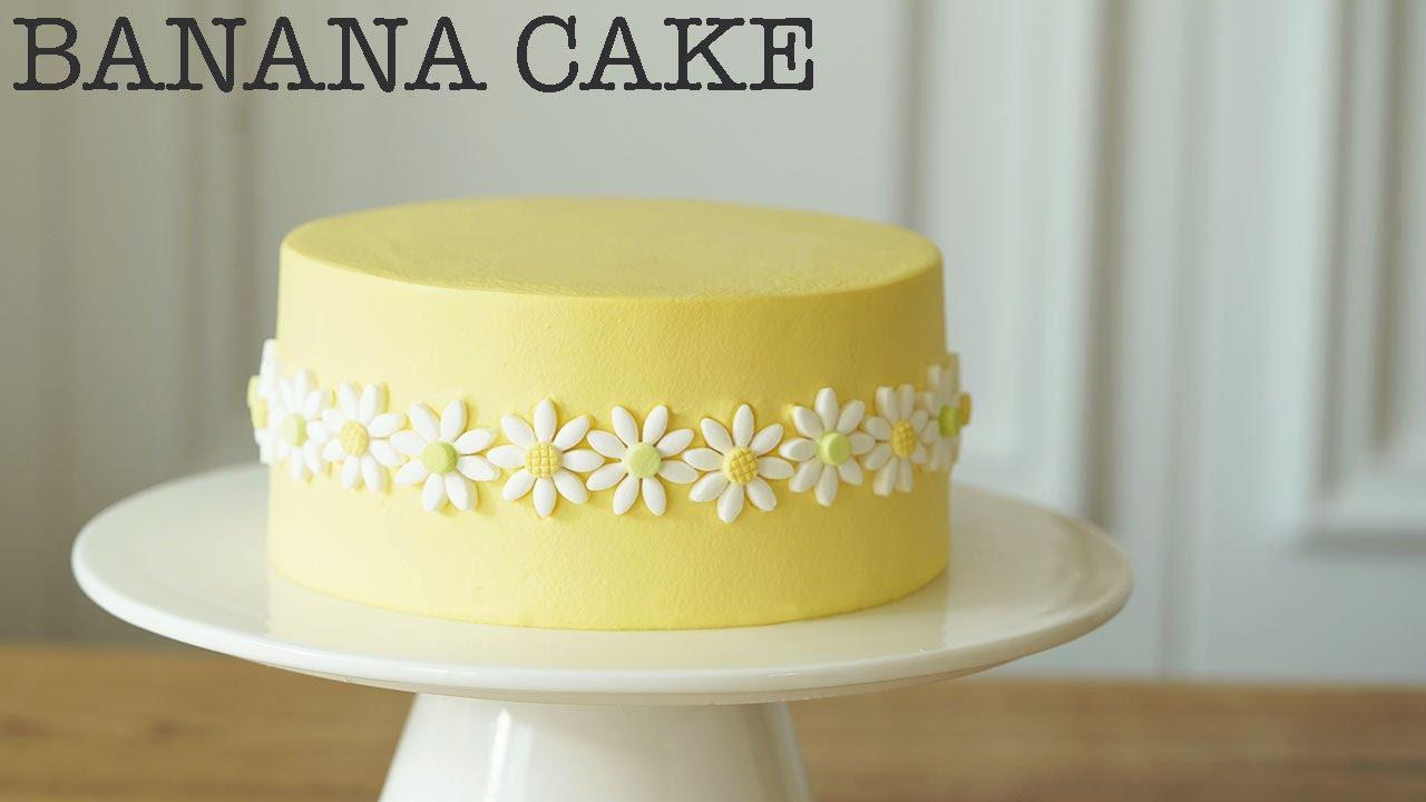 천국의 맛 바나나 케이크 🍌 Heavenly Banana Cake.