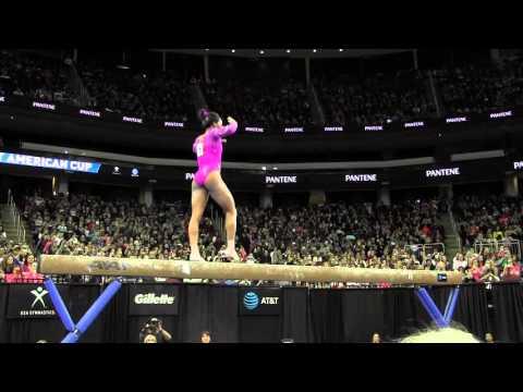 Gabrielle Douglas (USA) - Balance Beam - 2016 AT&T American Cup