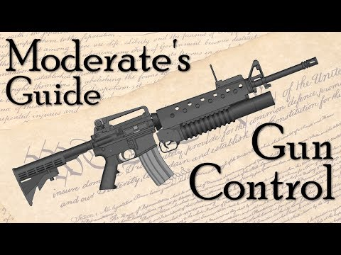 The Complete Moderate's Guide to Gun Control