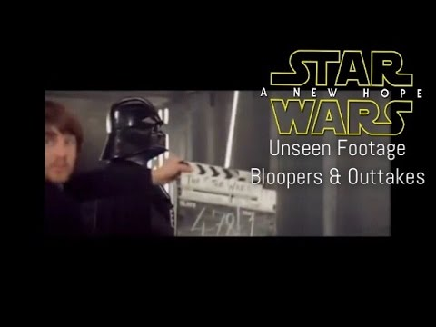 ⏯ Unseen Star Wars: A New Hope Footage & Bloopers