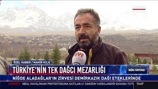 Türkiye'nin tek dağcı mezarlığı