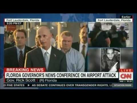 Fort Lauderdale Airport Shooting Governor Rick Scott Press Conference