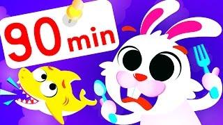 Peekaboo April Fools Compilation! Feat. Baby Shark & Bunny by Little Angel: Nursery rhymes & Songs