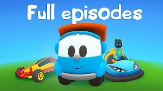 Leo the Truck & cars for kids. Kids' cartoon.