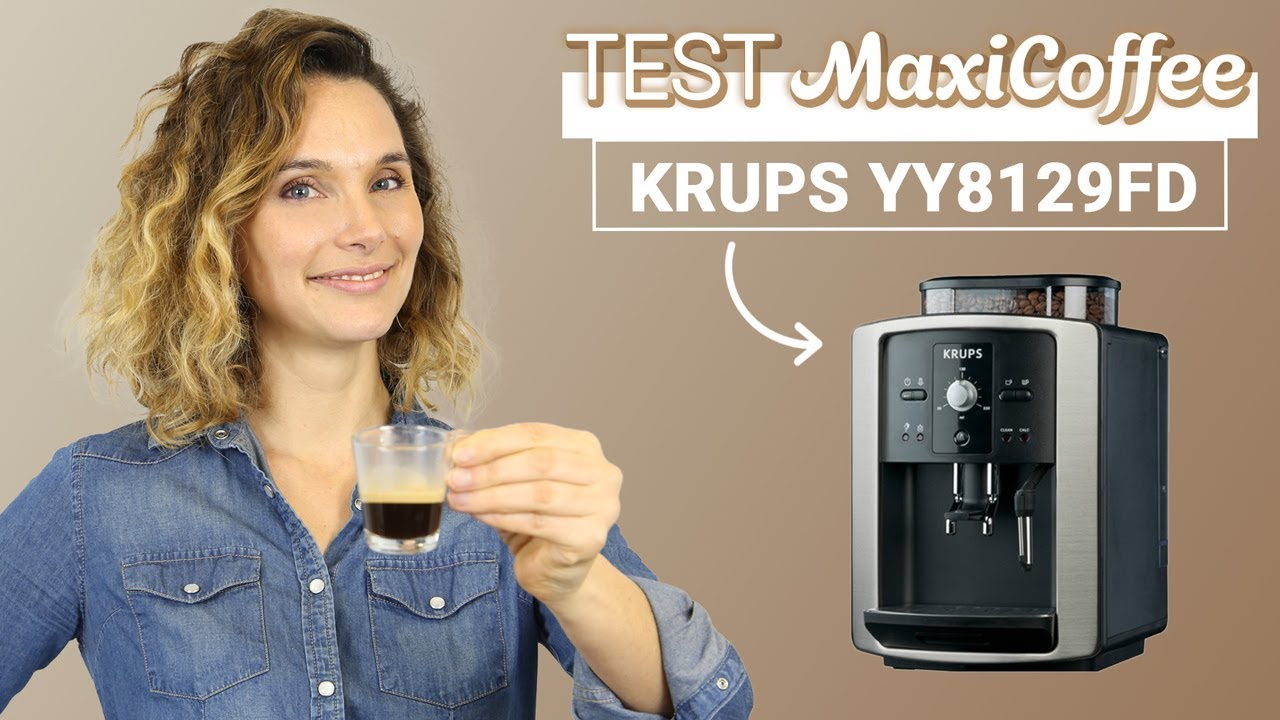krups yy8129fd machine caf automatique le test maxicoffee youtube. Black Bedroom Furniture Sets. Home Design Ideas