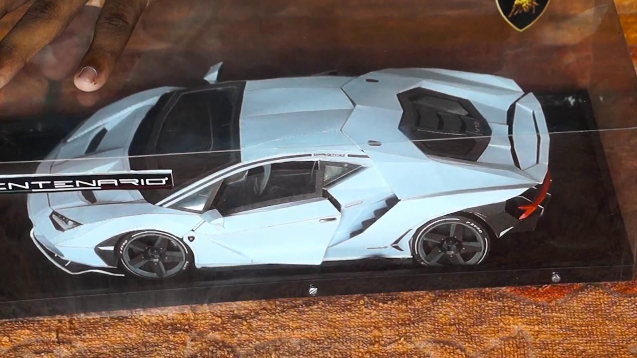 Lamborghini Centenario Paper Craft