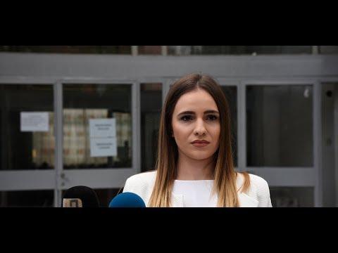 Прес конференција на  Сара Александрова, 22.09.2017