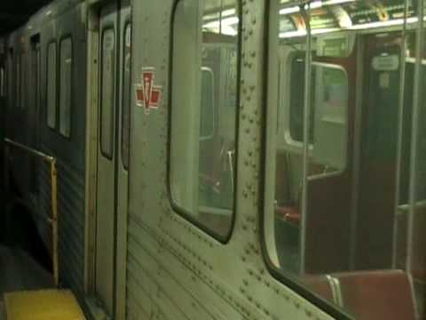 TTC Bloor-Danforth T1: Deadheading Into the Osgoode Pocket Track