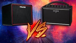 Boss Katana Mini VS NUX Mighty Lite BT