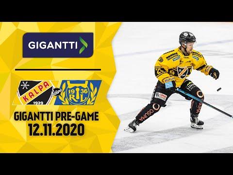Gigantti Pre-game I KalPa - Lukko, 12.11.2020 I Jesper Mattila