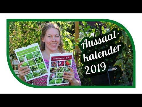 Gartenkalender 2019 📆 Aussaatkalender Für Gemüse  🍅 Und Kräuter 🌿 Kalender 2019