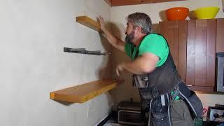 Installing Floating Shelves with Scott Wells