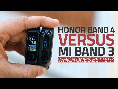 Honor Band 4 vs Xiaomi Mi Band 3 | Which One's a Better Activity Tracker? Mp3