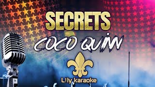 Coco Quinn - Secrets (Karaoke Version)