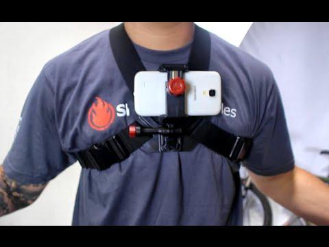 chest phone mount